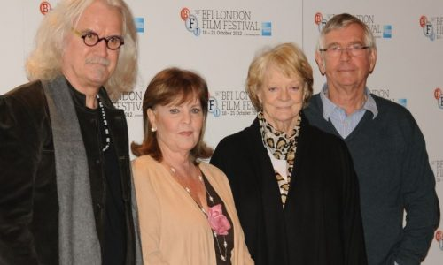 Billy Connolly, Pauline Collins, Dame Maggie Smith and Sir Tom Courtenay – the eponymous Quartet