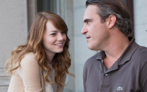 Emma Stone and Joaquin Phoenix in Irrational Man