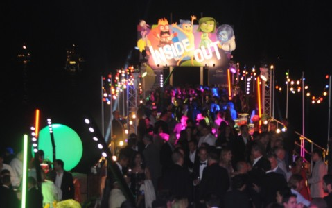 A taste of Hollywood in France; the Inside Out party on the Carlton beach pier