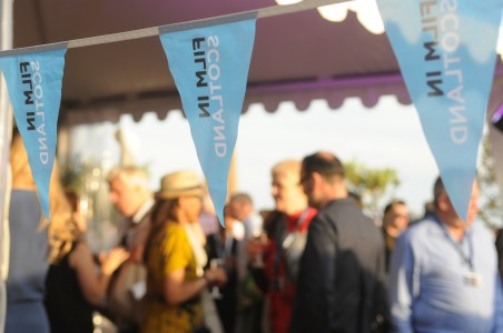 Celebrating Scotland's production industry on the beach