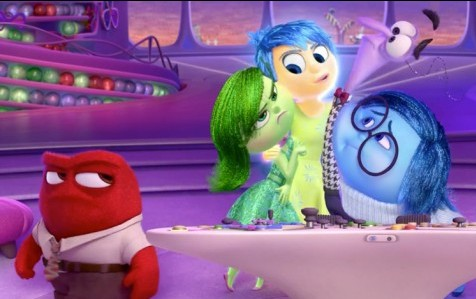 A young girl's emotions as depicted by Pixar in Inside Out