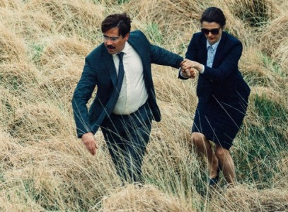 Colin Farrell and Rachel Weiss in The Lobster