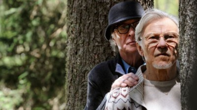 Sir Michael Caine and Harvey Keitel ponder their past in Youth