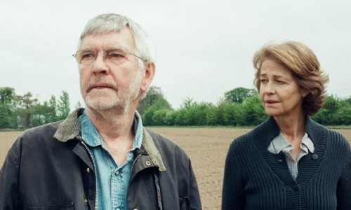 Charlotte Rampling, with Sir Tom Courtenay, in Andrew Haigh's 45 Years