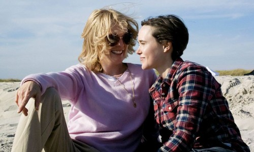 Julianne Moore and Ellen Page as lovers in Freeheld