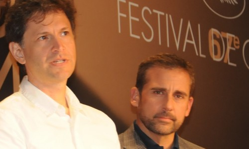 Director Bennett Miller (left) turned comic Steve Carell into the darkest of characters
