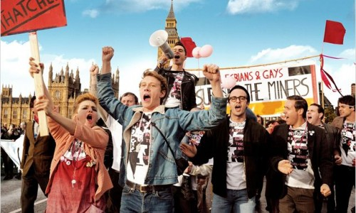 "Pride is one of the upcoming BFI films cited as an example of the kind of production that would meet the ""Three Ticks"" criteria for improving diversity in the British film industry."