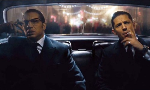 Tom Hardy as both of the Kray Twins in Legend