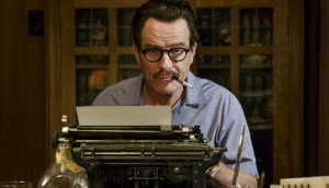 Bryan Cranston as a blacklisted writer in Trumbo