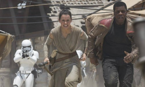 Star Wars: The Force Awakens was well clear at the top of the UK Box Office chart