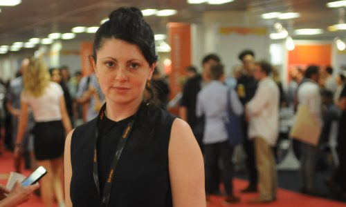 Director Christina Yianni came to Cannes for the first time to promote The Seedlings at the Short Film Corner