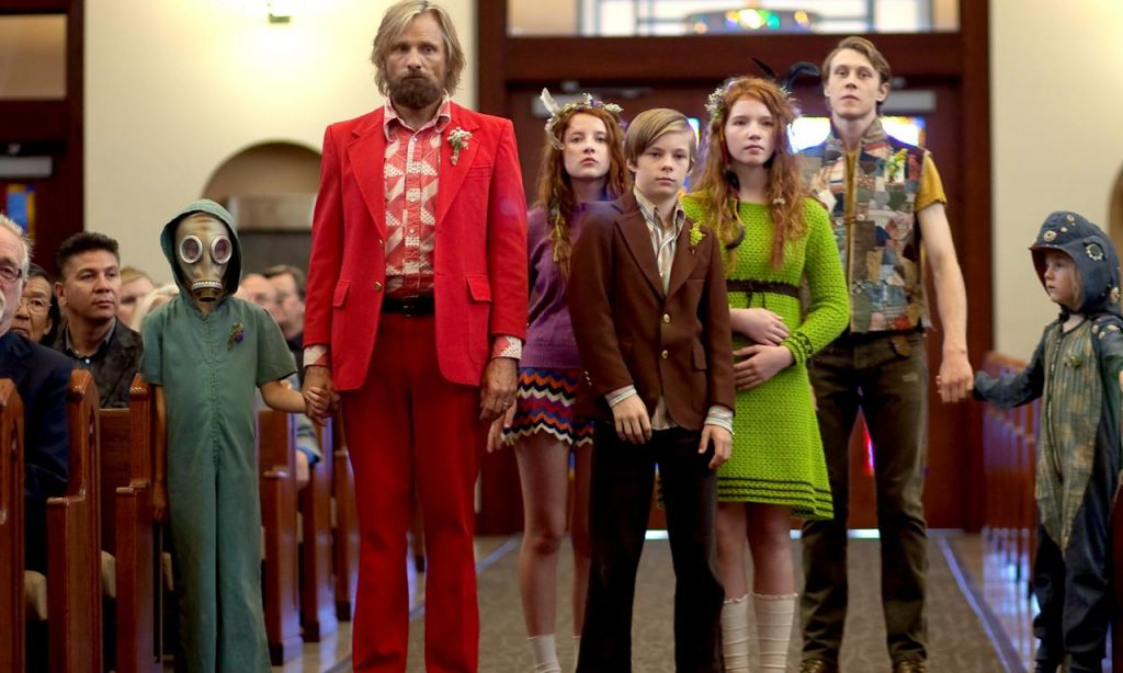 Viggo Mortensen brings his children in from the wild in Captain Fantastic