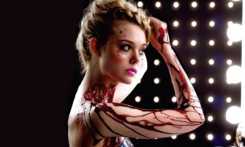 Elle Fanning plays an aspiring model in The Neon Demon,  a dark satire of the LA fashion world