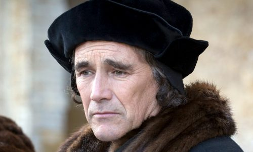 Best Actor winner Mark Rylance in Best Drama Wolf Hall