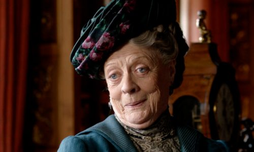 Dame Maggie Smith is nominated as supporting actress in Downton Abbey