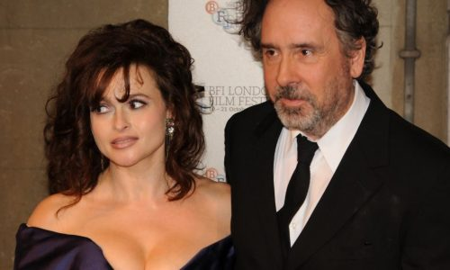 Tim Burton and Helena Bonham Carter, the jolly good Fellows who opened and closed the festival