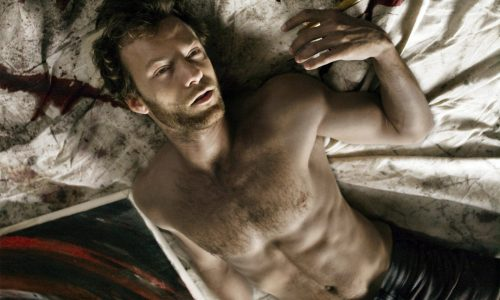 Kyle Schmid as troubled artist Colson