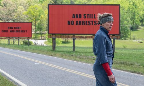 Bereaved mother Frances McDormand challenges authority in Three Billboards Outside Ebbing, Missouri