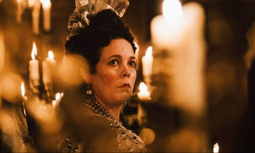 Olivia Colman has one of The Favourite's 12 BAFTA nominations.