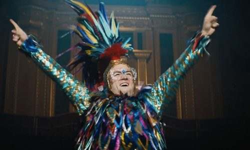 Taron Egerton embodies the spirit of Elton John, rather simply doing an impression of him
