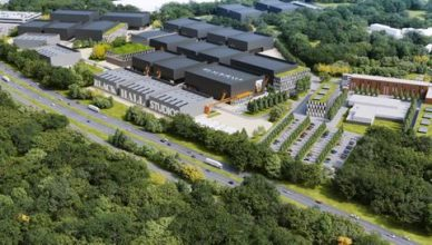 Blackhall's vision of how its proposed studios near Reading might look